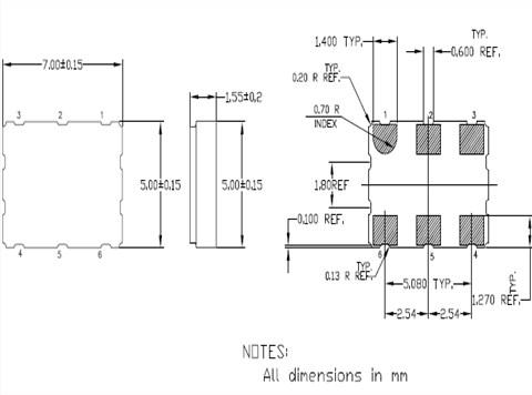 无论是温补晶体也好,压控晶振也罢,产品均采用了,离子刻蚀调频技术