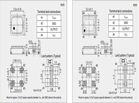 石英晶振,导航晶体振荡器,nv2520sa晶振