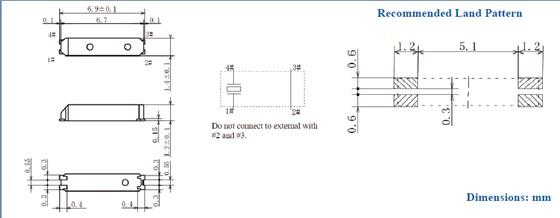 (1) 理想情况下,机械蜂鸣器应安装在一个独立于石英晶体器件的pcb板上