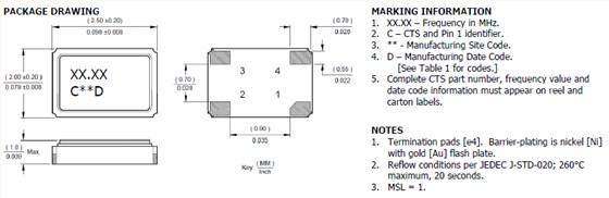 <晶体振荡器> 石英晶体振荡器的内部电路使用C-MOS。闭锁、静电对策请和一般的C-MOS IC一样考虑。有些石英晶体振荡器没有和旁路电容器进行内部连接。使用时,请在Vdd-GND之间用0.01F左右的高频特性较好的电容器(陶瓷片状电容器等)以 最短距离连接。关于个别机型请确认宣传册、规格书。 <晶体滤波器> 注意电路板图形的配置,避免输入端子和输出端子靠得太近。如果贴装晶体滤光片的电路板的杂散电容较大,为了消除该杂散电容,有时需要配置调谐电路。 如果过大的激励电力对声表面滤波器外加电压,有可能导致特性老