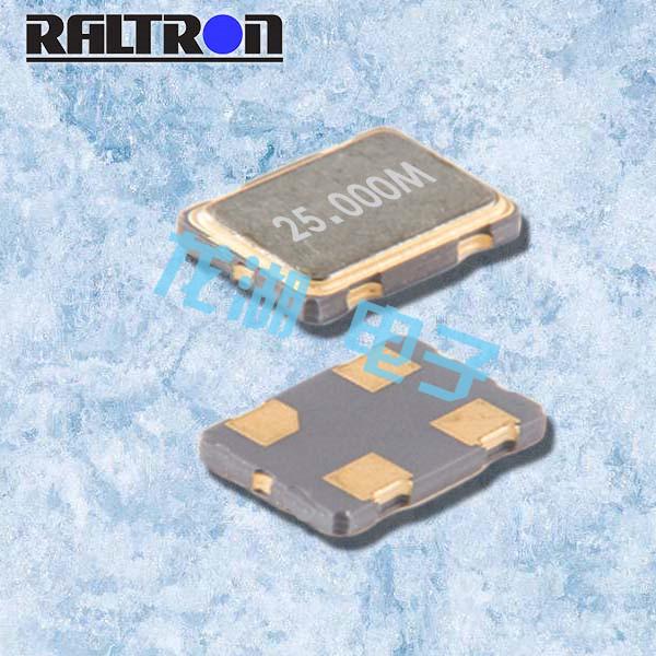 Raltron晶振,无源贴片晶振,F10晶振