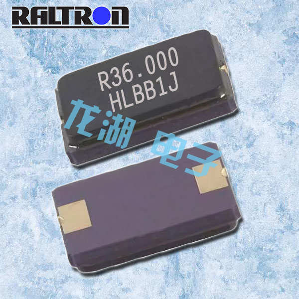 Raltron晶振,两脚贴片谐振器, H10A晶振