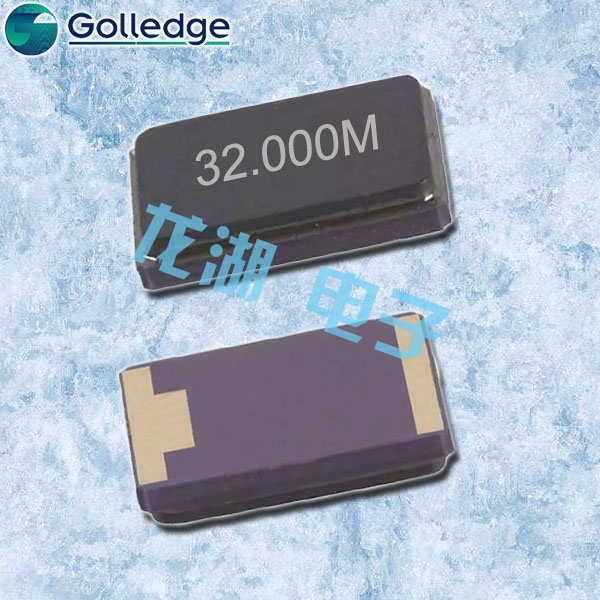 Golledge晶振,CC1V晶振,陶瓷面晶振