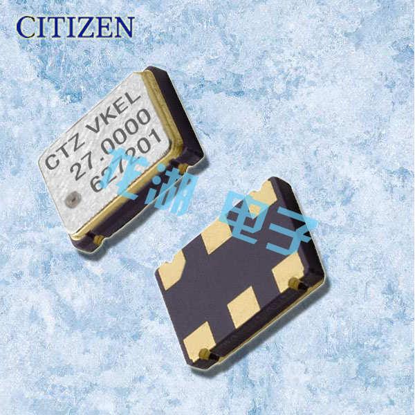 CITIZEN晶振,5070有源晶振,CSX-750V晶振