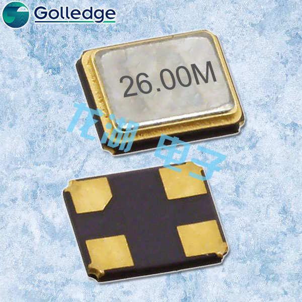 Golledge晶振,GRX-320晶振,贴片石英晶振