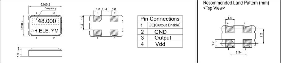 加高晶振,smd振荡器,hso531s晶振