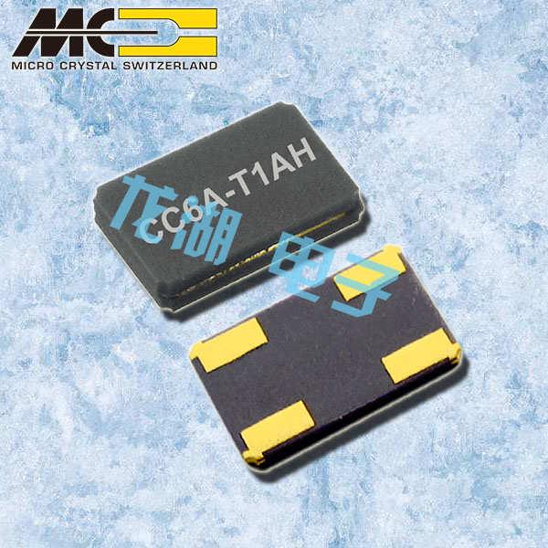 微晶晶振,石英晶振,CC6A-T1AH晶振