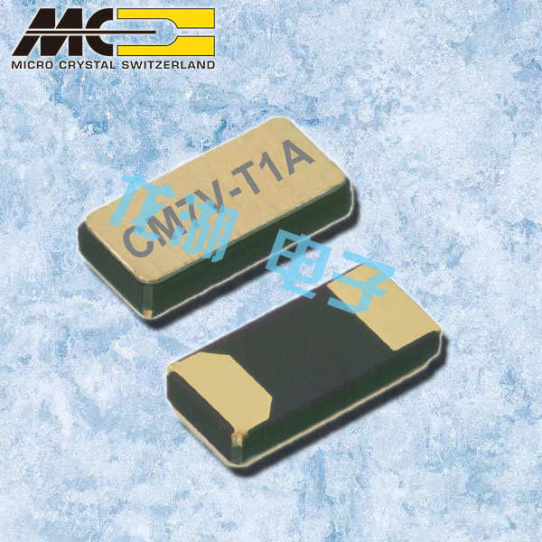 微晶晶振,石英晶振,CM7V-T1A晶振