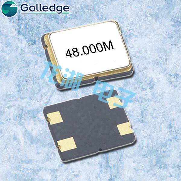 Golledge晶振,贴片晶振,GSX758晶振