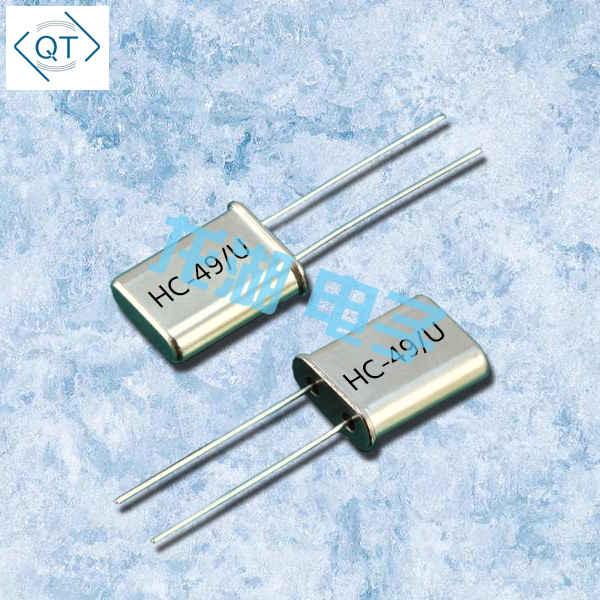 Quarztechnik晶振,石英晶振,QTCC-HC49U晶振