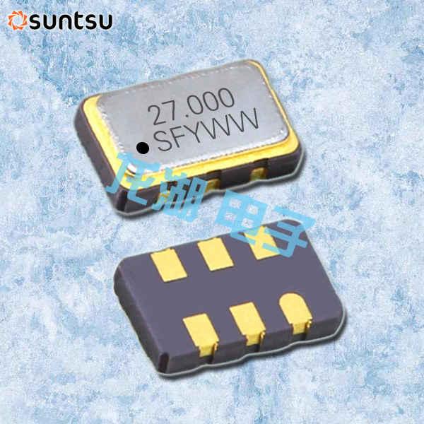 Suntsu晶振,压控控制振荡器,SQV53C无铅晶振
