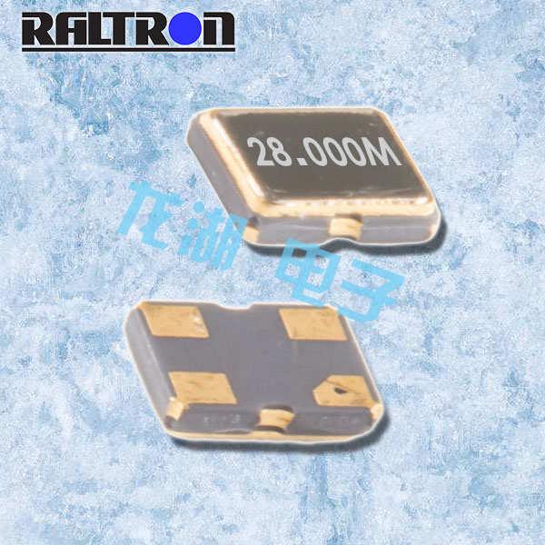 Raltron晶振,有源晶体振荡器,COM1-0.032768晶振