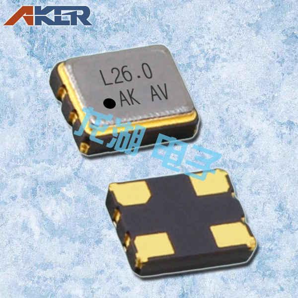 安基晶振,石英晶体振荡器,SMAF-321晶振